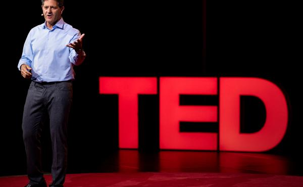 Nick Hanauer on the TED Stage