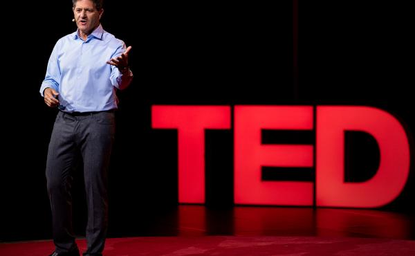 Nick Hanauer speaks at TEDSummit: A Community Beyond Borders. July 21-25, 2019, Edinburgh, Scotland. Photo: Bret Hartman / TED