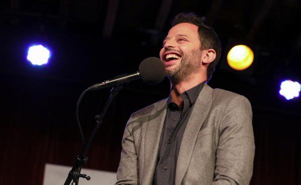 Nick Kroll appears on Ask Me Another at the Bell House in Brooklyn, New York.