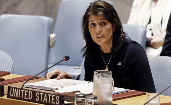 """It has been the honor of a lifetime,"" outgoing U.S. Ambassador to the U.N., Nikki Haley said Tuesday. ""It has really been a blessing."""