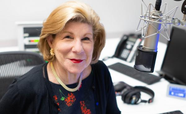 """Nina Totenberg became NPR's legal correspondent in 1975. """"In the beginning, NPR was a tiny little place,"""" she says."""