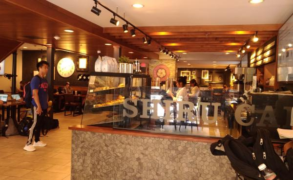 """At Shiru Cafe in Providence, R.I., students """"pay"""" for coffee, but not with money."""