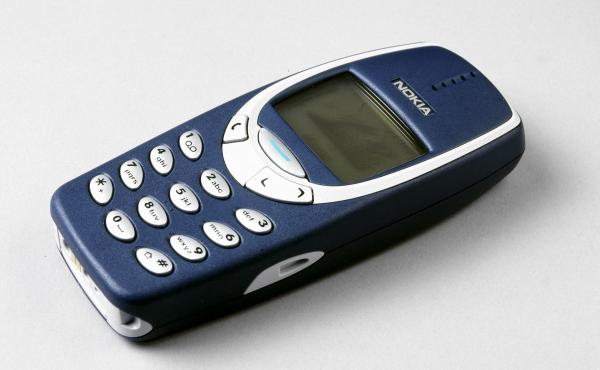 "The original caption for this photo of the Nokia 3310, which was released on Sept. 1, 2000, noted that the phone had advanced features like ""voice dialing, picture messaging, predictive text input and games."" No camera, though. And no Siri."