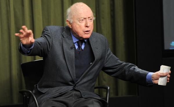 Actor Norman Lloyd reflects on his long career at the SAG Foundation Actors Center in Los Angeles in 2015.