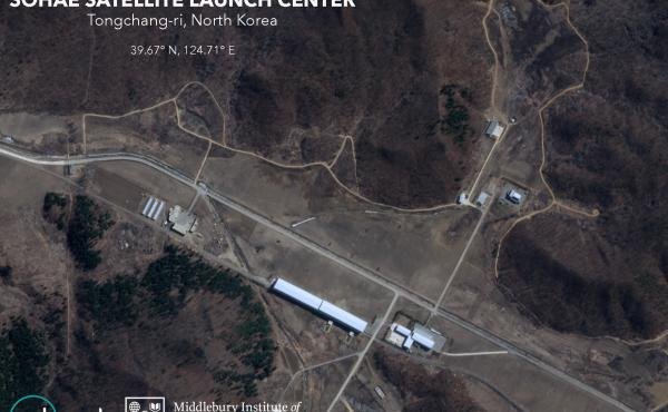 Satellite imagery shows new roads under construction at North Korea's Sohae Satellite Launching Station.