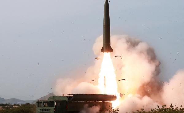 """North Korea's latest short-range missile, tested on May 4, looks similar to Russia's Iskander missile. North Korea describes it as a """"tactical guided weapon."""""""