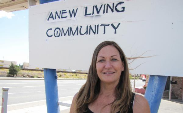 Lori Barlow gave up a six-figure salary as a financial planner and a home on the beach to help people make the near impossible leap from shelter to home.