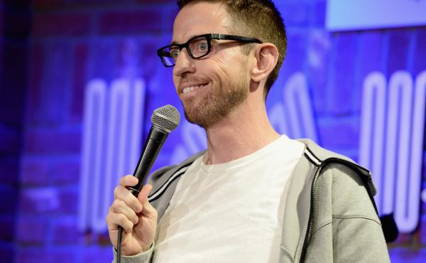 Neal Brennan performs at The Improv on June 10, 2015 in Hollywood, Calif.