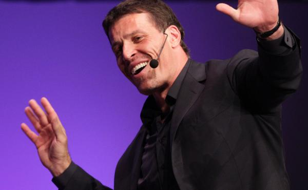 Motivational speaker Tony Robbins, shown in California in 2010, is the author of numerous self-help books. His latest is Money.