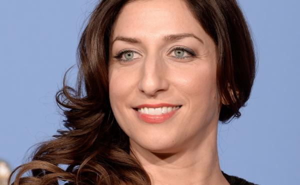 Chelsea Peretti poses during the 71st Annual Golden Globe Awards held at The Beverly Hilton Hotel on Jan. 12, 2014. in Beverly Hills, Calif.