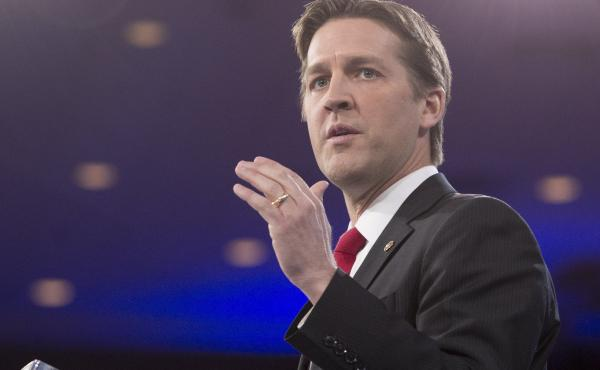 Sen. Ben Sasse, R-Neb., speaks during the annual Conservative Political Action Conference outside Washington, D.C., on March 3, 2016.