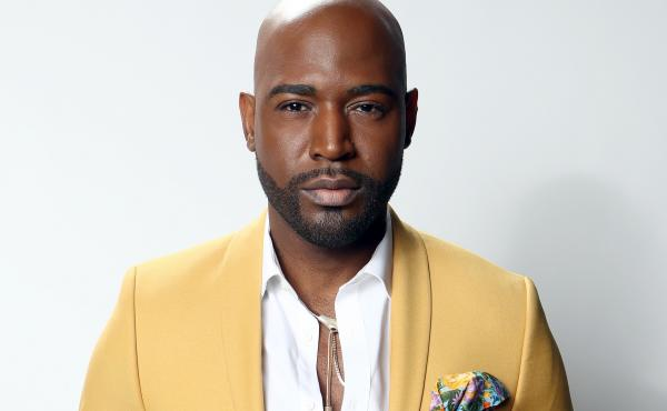 Karamo Brown poses for a portrait on Feb. 9, 2020, in Los Angeles, Calif.