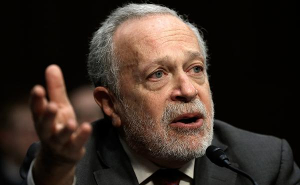 Former U.S. Labor Secretary Robert Reich testifies before the Joint Economic Committee on Jan. 16, 2014, in Washington, D.C.
