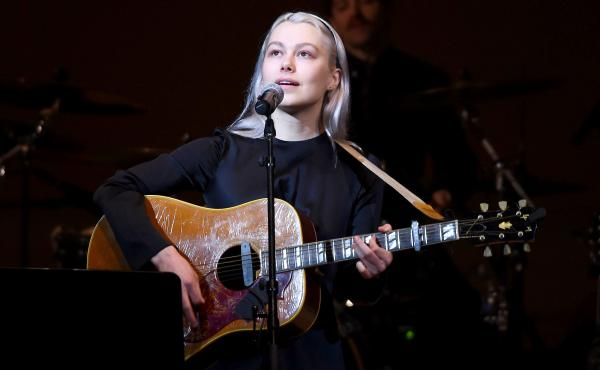 Phoebe Bridgers performs in New York City on Feb. 26, 2020.