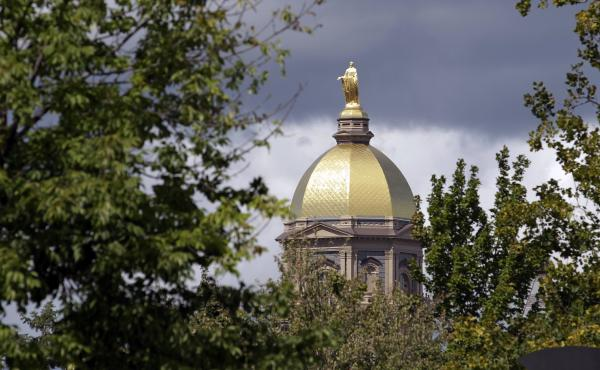"Notre Dame is the ""first and most important employer publicly to take advantage"" of the rollback, The Los Angeles Times says."