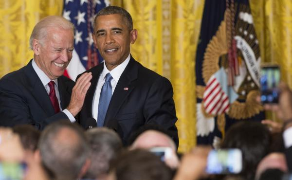 President Obama has stayed neutral in the race to replace him, but as rumors swirl that Vice President Biden could jump in, a White House spokesman said Monday it's possible Obama will endorse.
