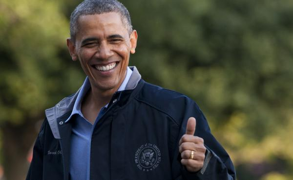 President Obama has reason to smile. He's now just three votes shy of being able to sustain a veto of a resolution of congressional disapproval of his Iran nuclear deal — that is, of being able to advance the deal over Republican objections.