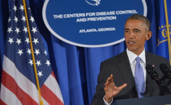 President Obama spoke Tuesday about the U.S. plan to fight the Ebola epidemic in West Africa, speaking at the Centers for Disease Control and Prevention. The White House plan reportedly includes deploying 3,000 U.S. military personnel and training health