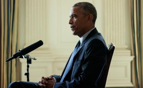 President Obama is interviewed by NPR's Steve Inskeep.