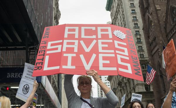 Since its passage, the Affordable Care Act has been the subject of multiple court cases and attempts to derail it in Congress — attempts that garnered protests in 2017 and beyond. The law has survived, so far, but a key provision was struck down Wednesd