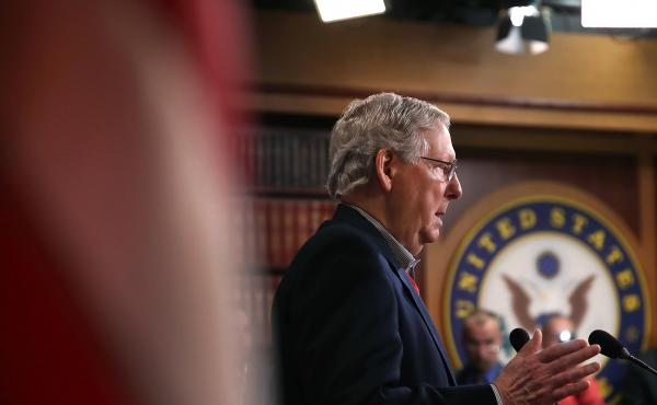 """Senate Republicans will move """"right after the first of the year"""" on a resolution to replace the Affordable Care Act, Senate Majority Leader Mitch McConnell told reporters Monday."""