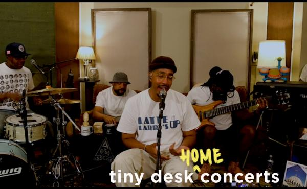 Oddisee plays a Tiny Desk (home) concert.