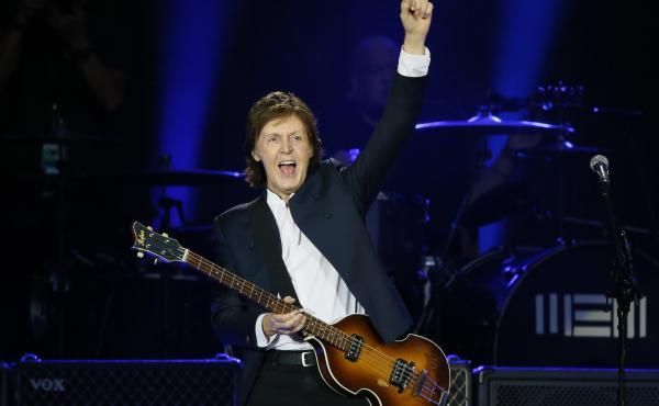 Paul McCartney has composed love-themed audible emoji.