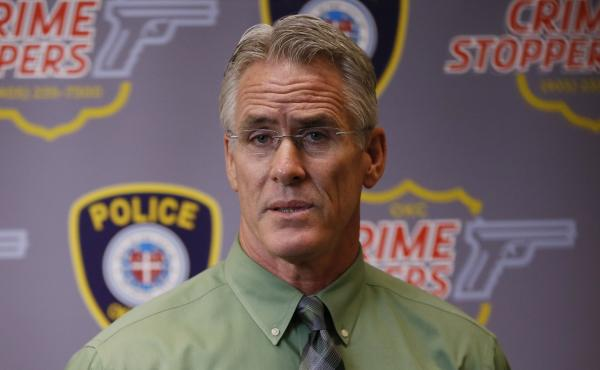 Oklahoma City Police Capt. Bo Mathews told reporters on Wednesday that Sanchez was shot after approaching officers while holding a metal pipe.