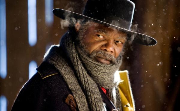 Samuel L. Jackson is one of the stars of Quentin Tarantino's Hateful Eight, which is showing in 100 theaters in 70-millimeter film — a nearly-obsolete premium format.