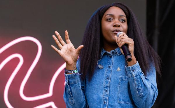 """I think we've been tricked into believing that we have to constantly consume, and I think challenging the way we consume is important,"" Noname says."
