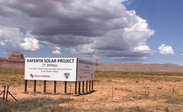 After decades of dependency on coal for jobs, the Navajo Nation is turning to renewables. Two utility-scale solar farms have been built in recent years and another one is in the works.