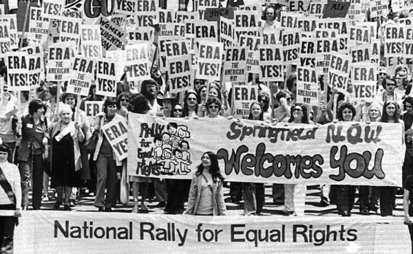 Illinois has ratified the Equal Rights Amendment, more than 40 years after an estimated 10,000 people marched on the Capitol building in Springfield, Ill., to urge approval of the ERA.