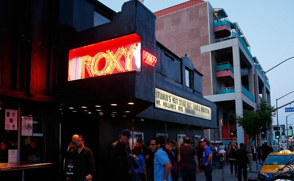 The Roxy Theatre in West Hollywood, CA will be one of 48 venues across the country affected by AEG's new policy.