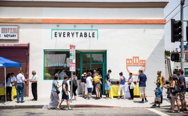 Everytable opened its first location, in South Los Angeles, on July 30.