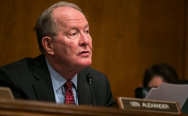 Senate Health, Education, Labor, and Pensions Committee Chairman Lamar Alexander (R-Tenn.) makes opening statements during a hearing to examine the National Labor Relations Board's joint employer decision last month.