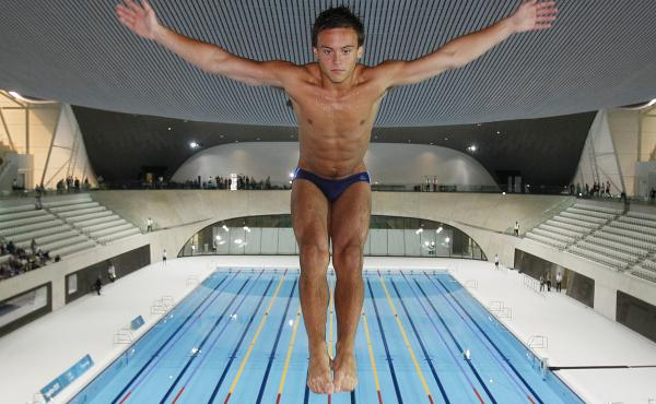 British Olympic diver Tom Daley won his first gold medal on Monday after competing in three other Olympic games.