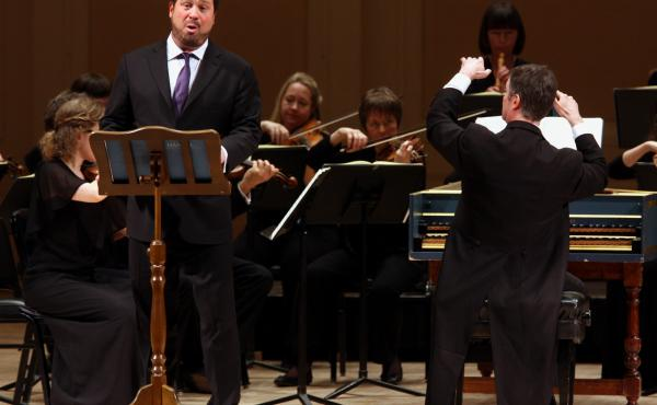Countertenor David Daniels, performing at New York's Carnegie Hall in 2013.