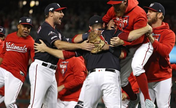 The Washington Nationals are headed to the World Series for the first time since the franchise moved to Washington, D.C.