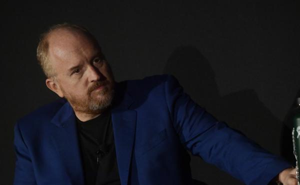 Louis C.K. in September 2017 in New York City. He jokes about Parkland shooting survivors in newly leaked audio from a comedy club.