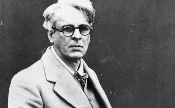 Irish poet William Butler Yeats circa 1920.