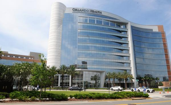 The incident happened at the Orlando Regional Medical Center, shown here in 2016.
