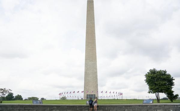 The Washington Monument has undergone more than $10.7 million in repairs and renovations. The monument reopens on Sept. 19.