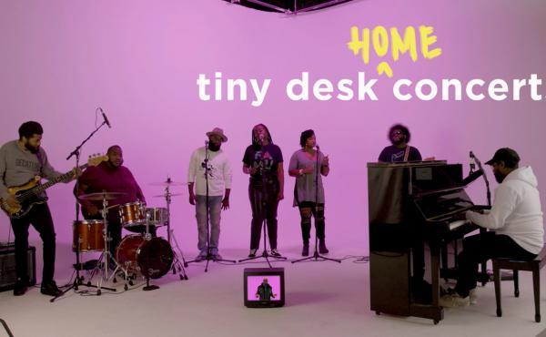 PJ Morton plays a Tiny Desk (home) concert.