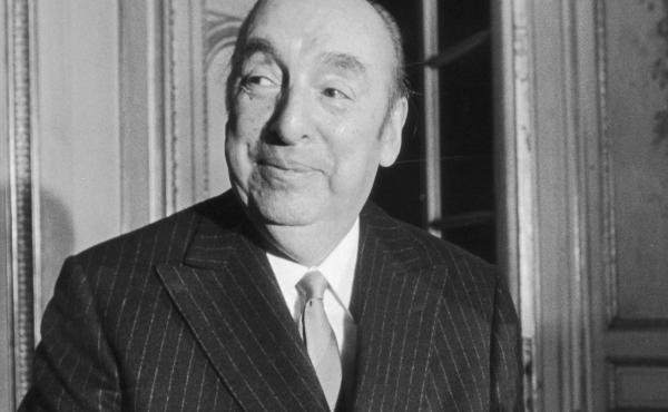 Chilean poet Pablo Neruda, seen in 1972 nearly one year before his death.