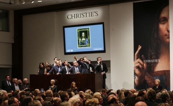 "Christie's To Auction Leonardo da Vinci's ""Salvator Mundi"" Painting"