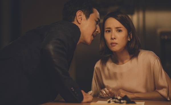 Sun Kyun-lee and Cho Yeo-jeong play Mr. and Mrs. Park, a wealthy couple whose hired help isn't quite what it seems, in Bong Joon-ho's thriller Parasite.