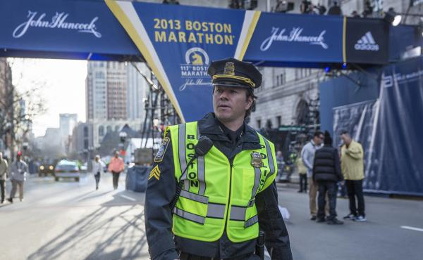 Mark Wahlberg in Peter Berg's Patriots Day.