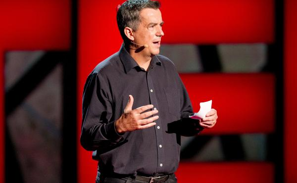 Paul Gilding on TED Stage.