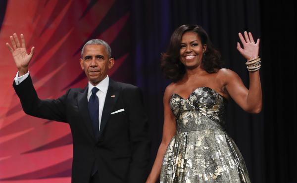 Some of the proceeds from the Obamas' two upcoming books will be donated to charity, both by the publisher and the authors.