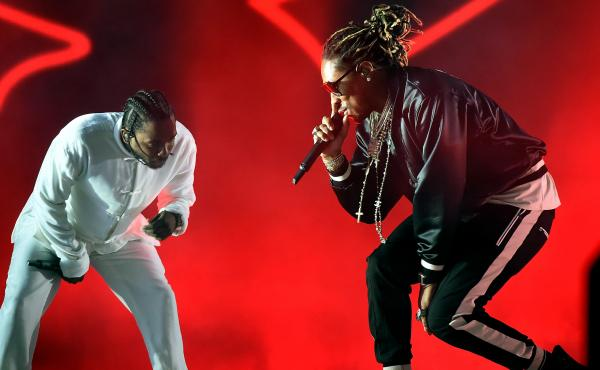 Future joined Kendrick Lamar on the Coachella stage in April.
